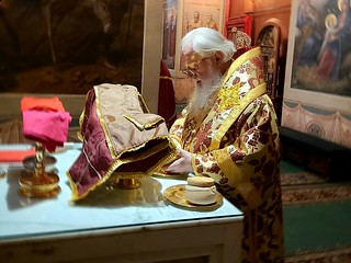 04.10.2020 | Литургия в Иверском монастыре
