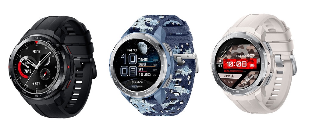 HONOR Watch GS Pro– všechny barvy