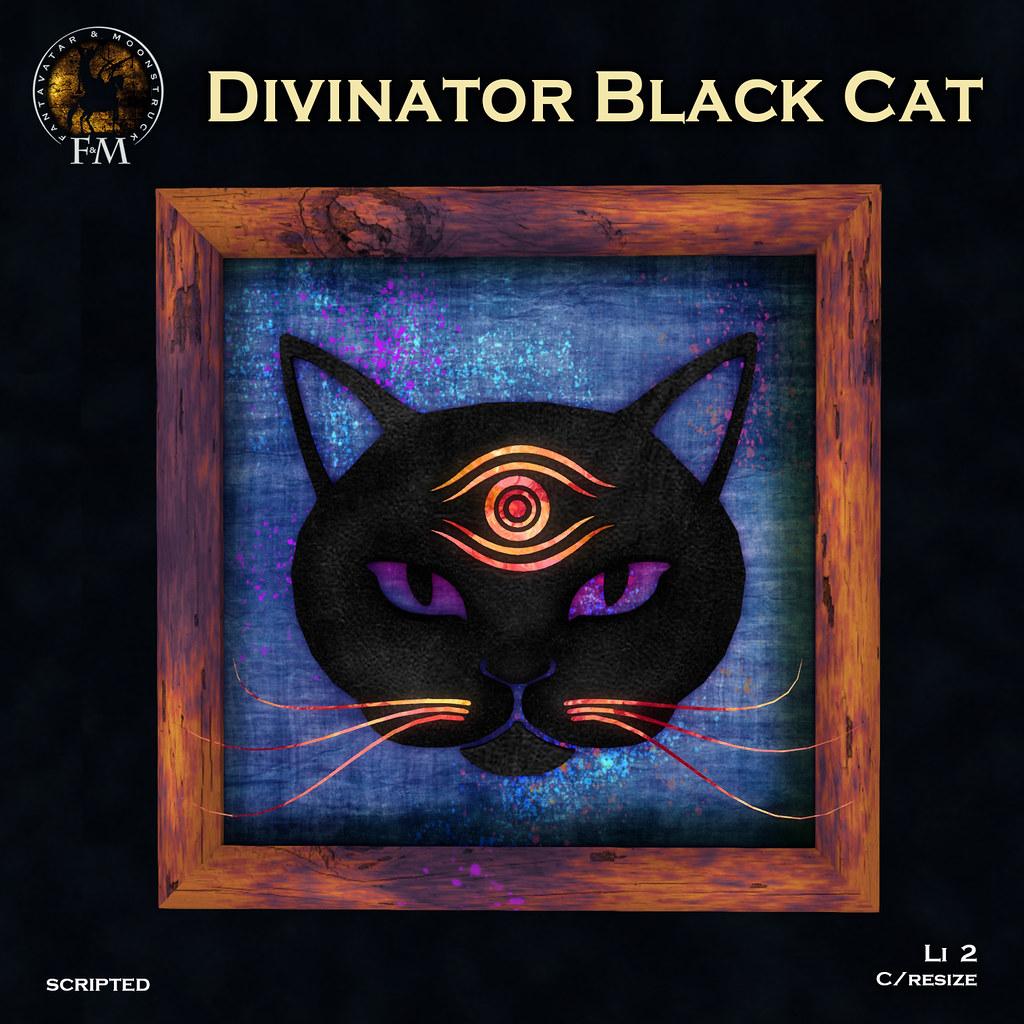 F&M * Divinator Black Cat – HUNT GIFT