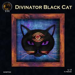 F&M * Divinator Black Cat - HUNT GIFT