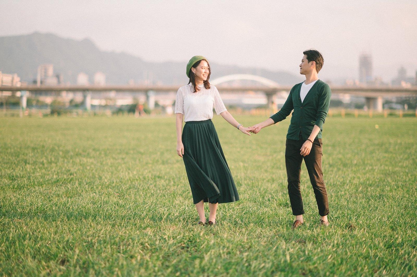 【婚紗】Patty & Fountain / 婚紗意象 / 觀山河濱公園
