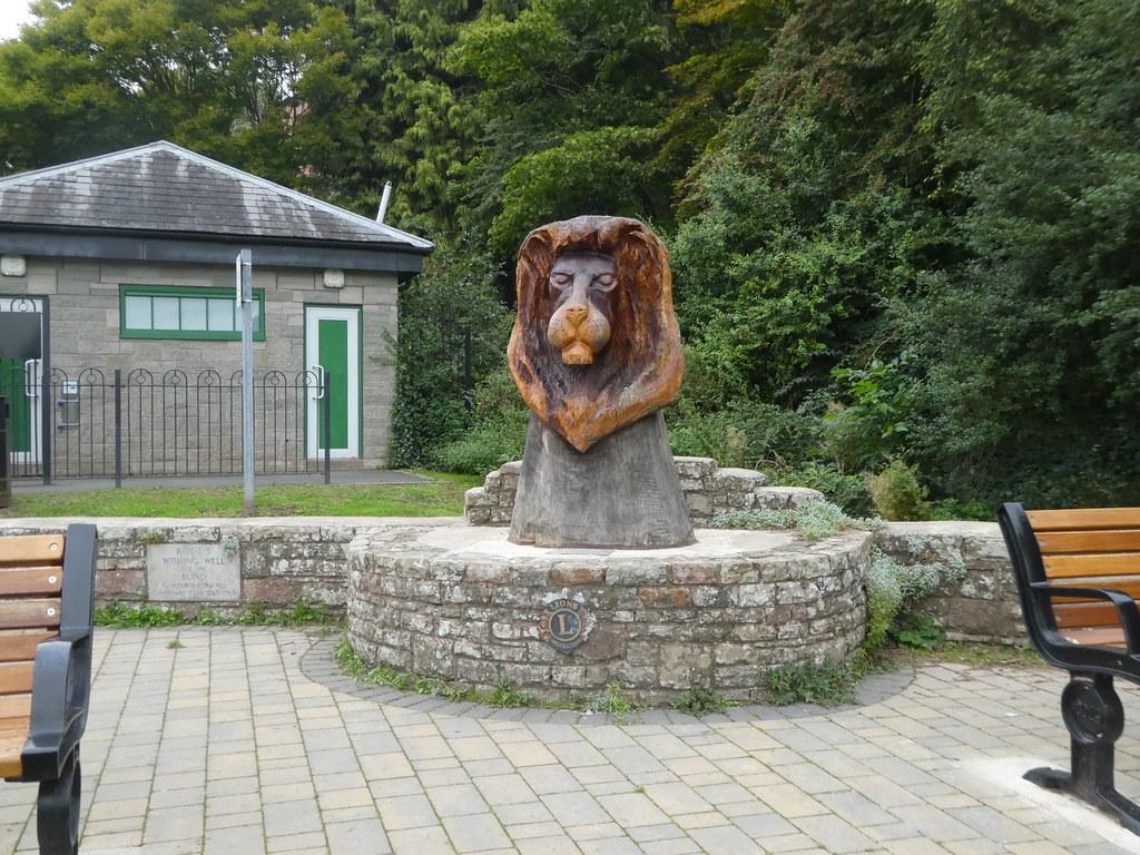Lions association centenary statue, Ross-on-Wye