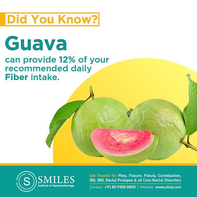 Guava for a healthy colon