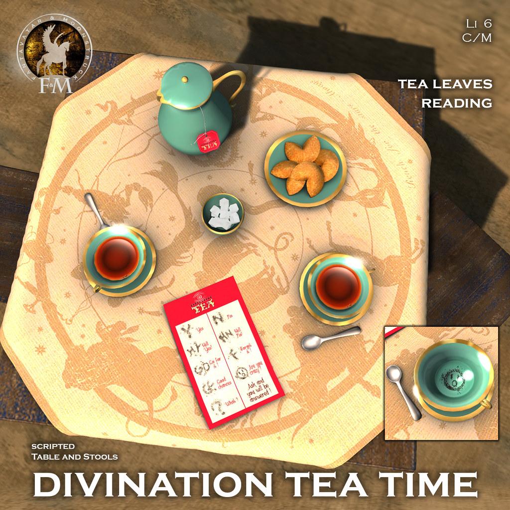 F&M * Divination TeaTime @ Fallen Gods Annyversary
