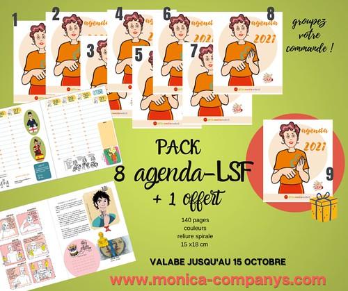 8 AGENDAS-LSF 2021 + 1 offert