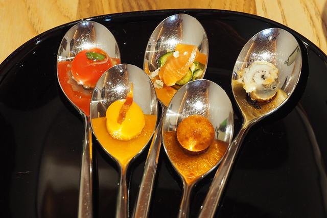 Starter spoons, Siena, Italy