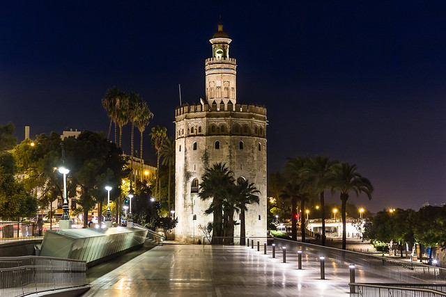 Torre del Oro. Sevilla. España