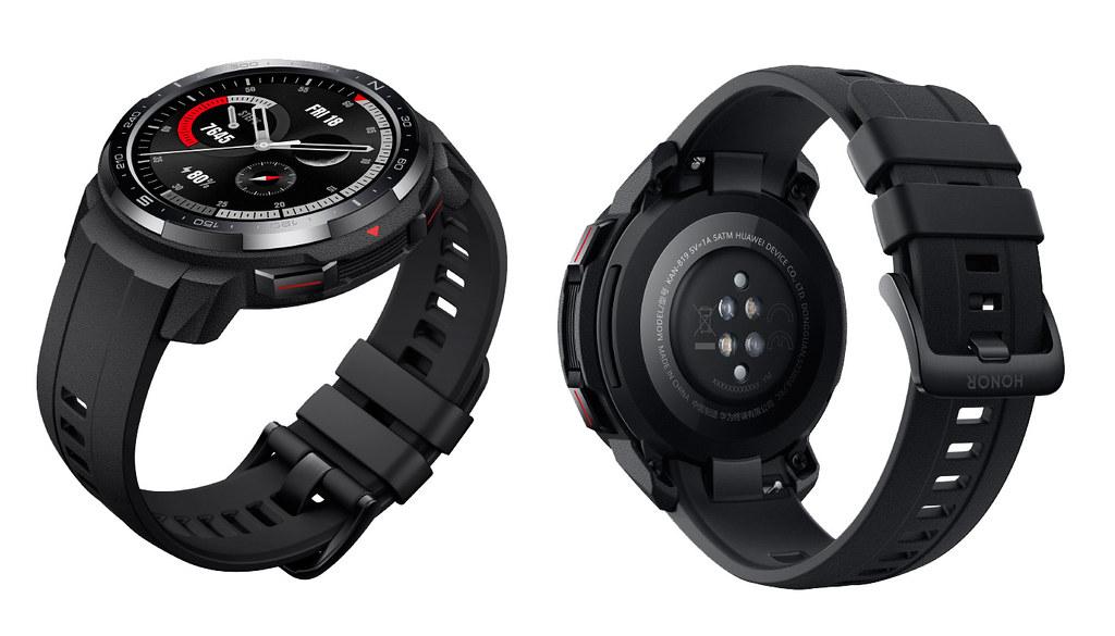 HONOR Watch GS Pro– černá