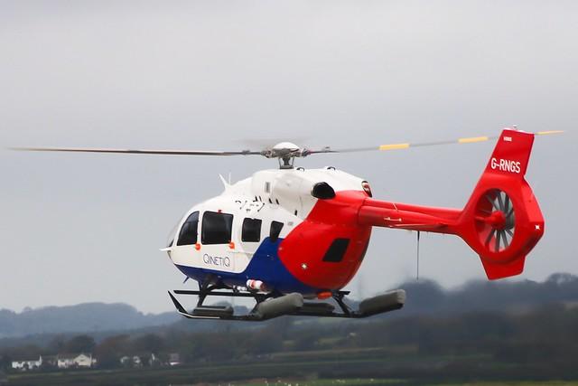 G-RNGS landing at CWL