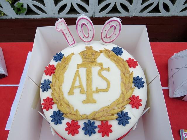 Leonora Jeffrys 100th birthday