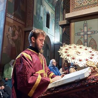04.10.2020   Литургия в Софийском соборе