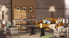 Amber Living Room