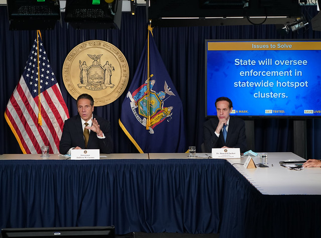 Governor Cuomo Makes an Announcement, Holds Briefing 10/05/20