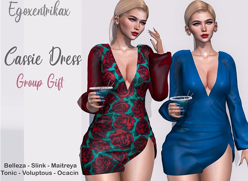 EGO - Cassie Dresss 2 Colors - Group Gift AD