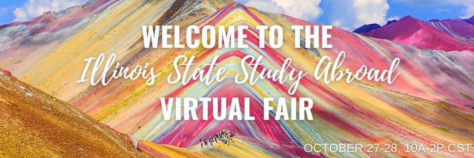 Fall 2020 Study Abroad Virtual Fair