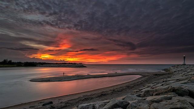 Sunset, Kelantan, Malaysia
