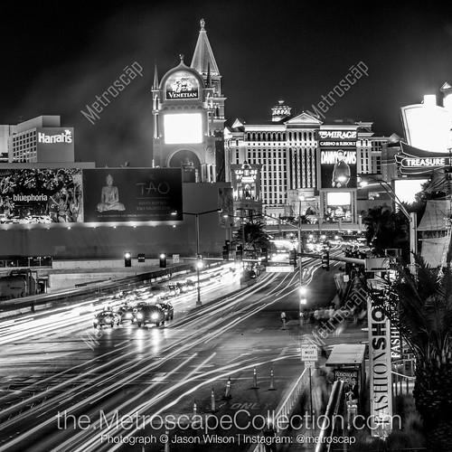 las-vegas-black-white-traffic-vegas-strip-square-206-metroscapeCollection.jpg | by metroscapeCollection-black-and-white-cities