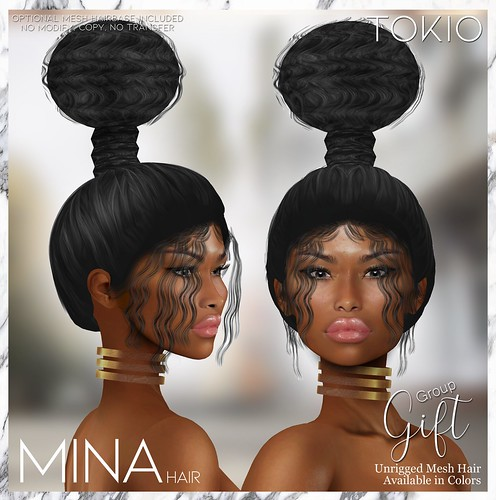 TOKIO Hair - MINA Alpha Hair - Group Gift October @Mainstore!