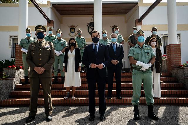 2020_10_05 Visita Oficial Acuartelamiento Montejaque de Ronda.