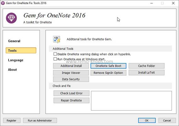 Gem for OneNote 2016 review - Toolkit to supercharge OneNote 215