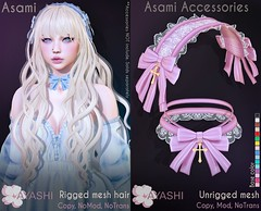 [^.^Ayashi^.^] Asami hair & Accessories special for Gothical