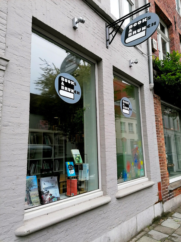 Entrada de Books & Brunch, en Brujas