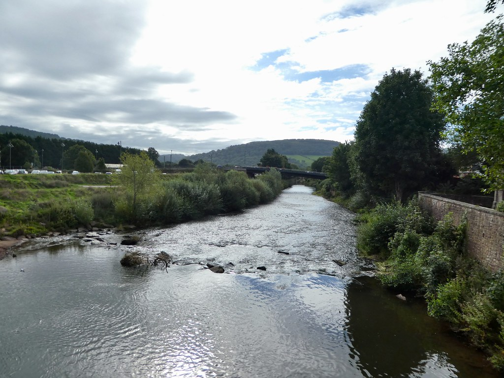 The River Wye in Monmouth