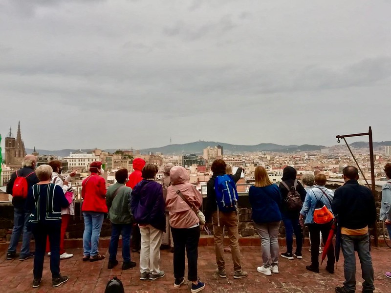 Cicle Cultural Descobrir Barcelona-Les terrasses de Santa Maria del Mar