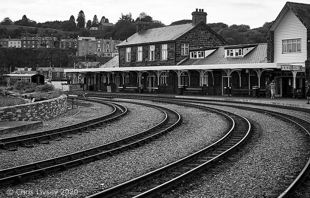 Porthmadog Heritage Narrow Gauge station