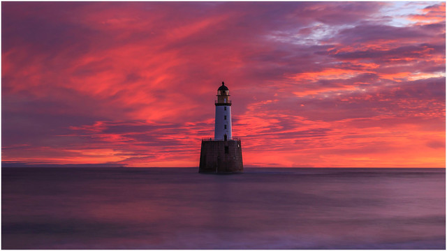Rattary Head Lighthouse  - Rattary - Aberdeenshire