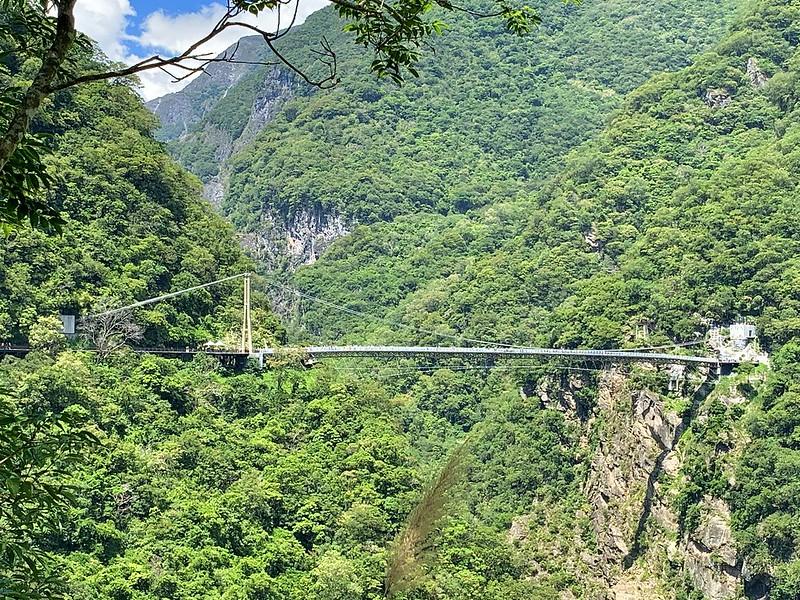 布洛灣遊憩區 山月吊橋