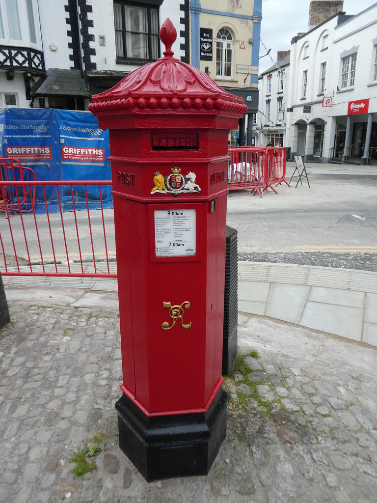 Victorian postbox, Monmouth