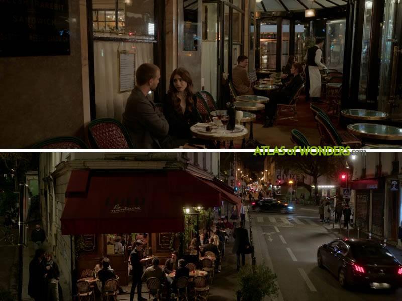 Café de Flore y Lulu la Nantaise
