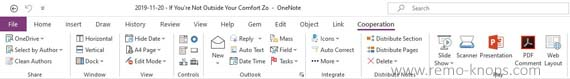 Gem for OneNote 2016 review - Toolkit to supercharge OneNote 222