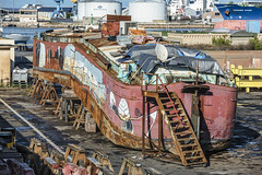 Barge wreck