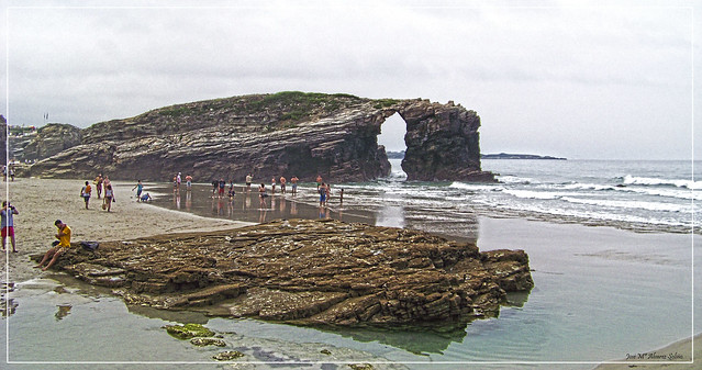 Playa de Las Catedrales (Ribadeo - España)