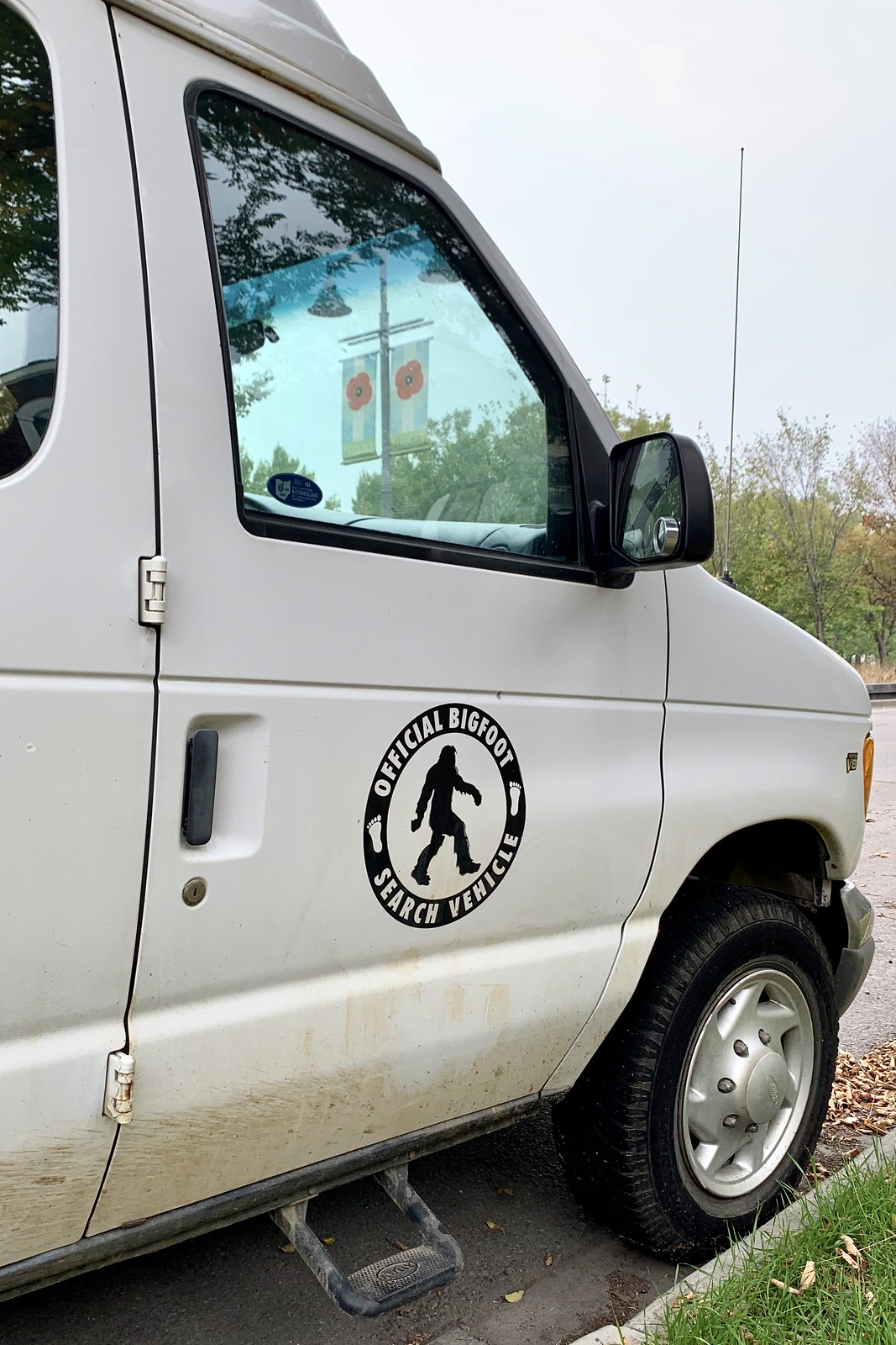 Official Bigfoot Search Vehicle