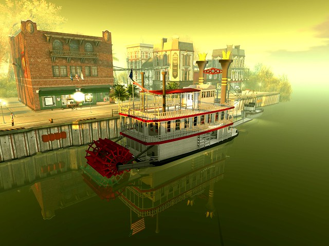 Dya's Southern Twilight - Riverboat Too