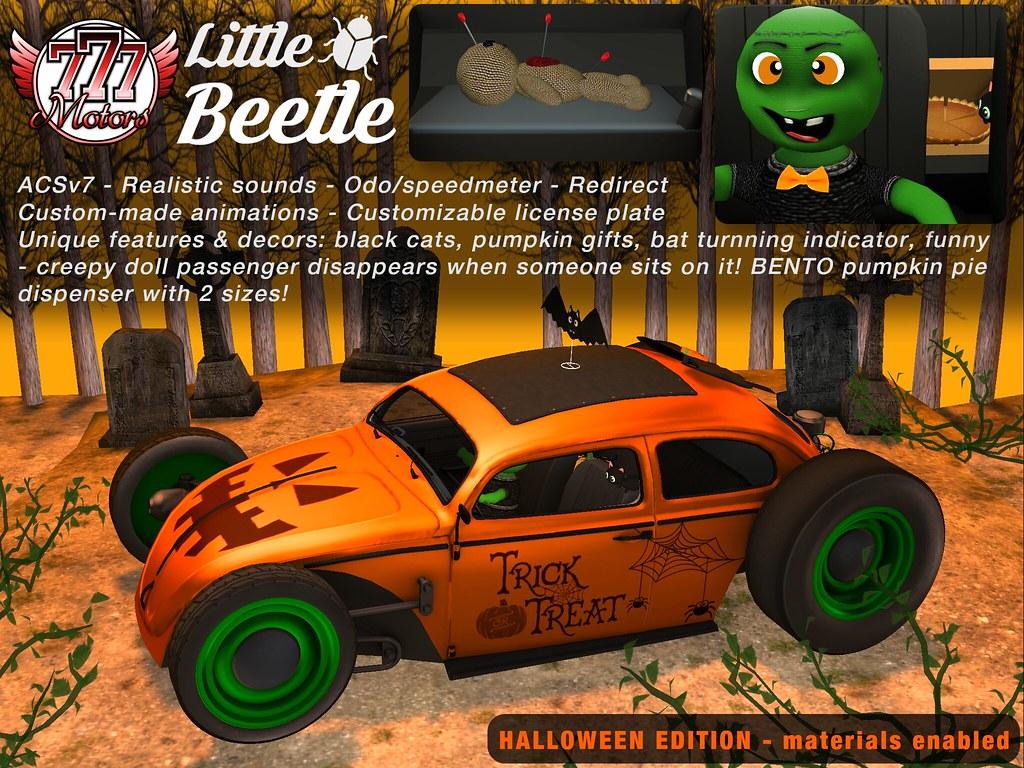 [777] Little Bettle – Halloween Edition