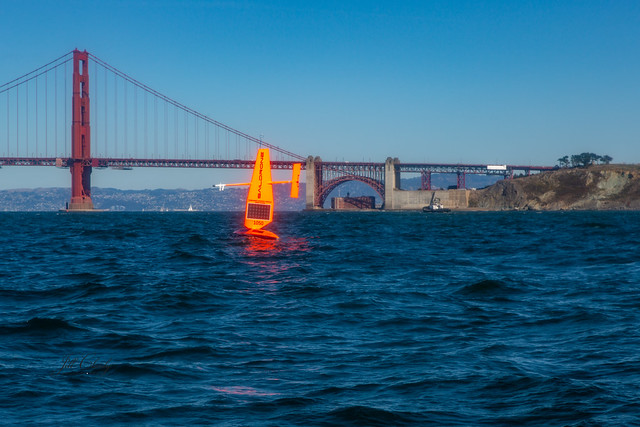 Armchair Traveling - Sail Drones Outside San Francisco Bay