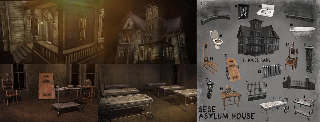 Sese – Asylum House @ The Arcade