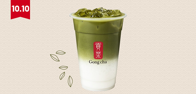 New Drinks At Gong Cha for Matcha Lovers: Matcha Latte