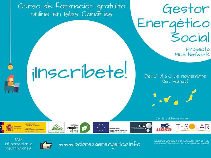 ACA formará a gestores energéticos sociales en Canarias para luchar contra la pobreza energética en la era post-Covid 19