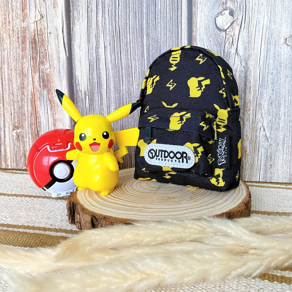 OUTDOOR x《Pokemon寶可夢》聯名「潮黑皮卡丘」系列潮包  帶來十萬伏特級的魅力!