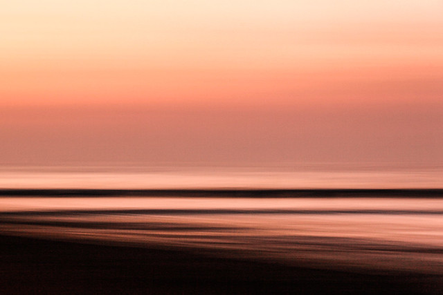 Huanchaco Beach Abstract One