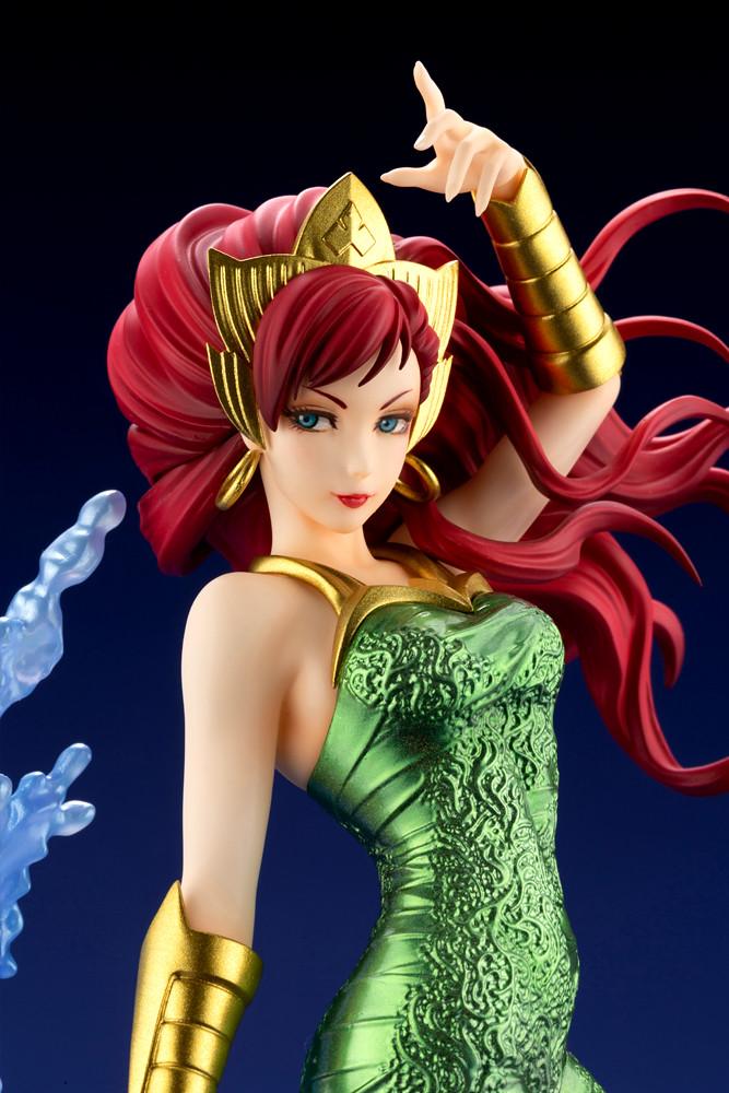 壽屋 DC COMICS美少女【梅拉】1/7比例PVC塗裝完成品!操縱水流的華麗姿態