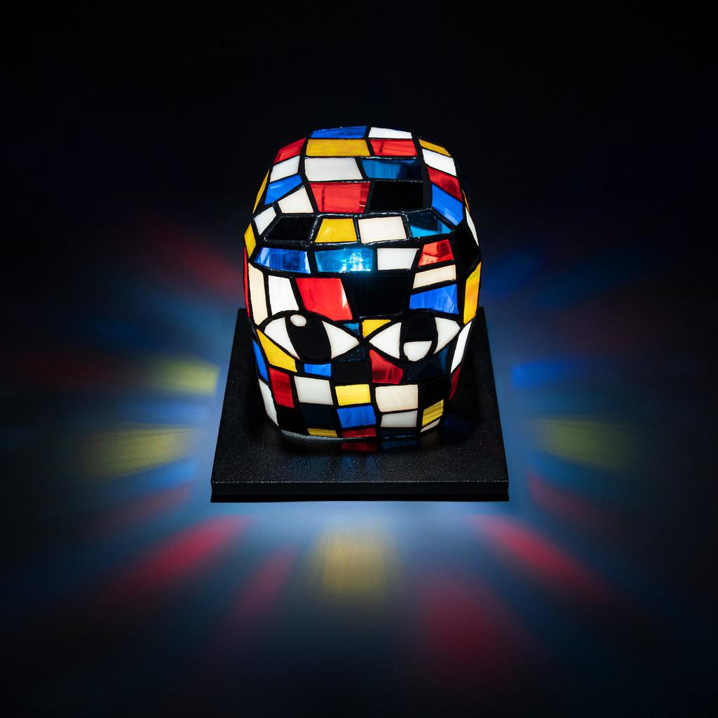 AllRightsReserved x 美國藝術家 Eddie Martinez 首個 Blockhead 雕塑作品「BLOCKHEAD LAMP」開放全球抽選登記