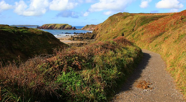 View down to Marloes Sands - Pembrokeshire 290920 (3)
