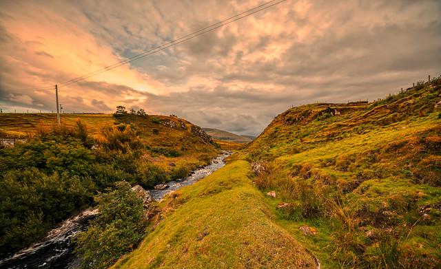 River Kilmaluag, Portree, Skye.