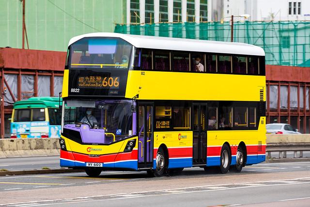 Citybus 8822 | WV6102 | 606